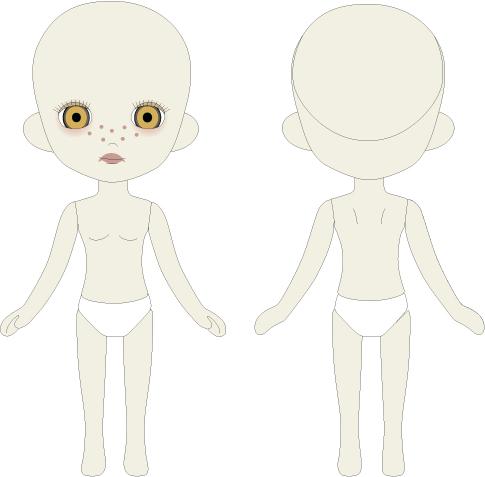 画像1: はだかんぼうのおでこちゃん020 (1)